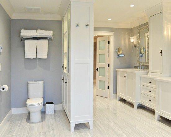 Bath Cabinet Toilet Divide Bathroom Remodel Cost Traditional Bathroom Bathrooms Remodel