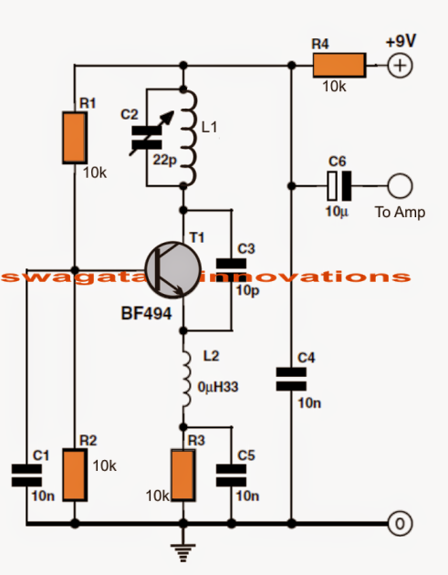 simple fm radio electronic projects circuit projects, fm radio