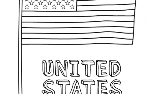 American Flag Coloring Pages Free | kinder math | Pinterest ...