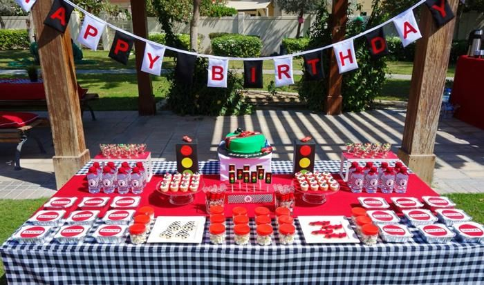 Lightning McQueen Race Car Party Ideas Planning Idea Cake