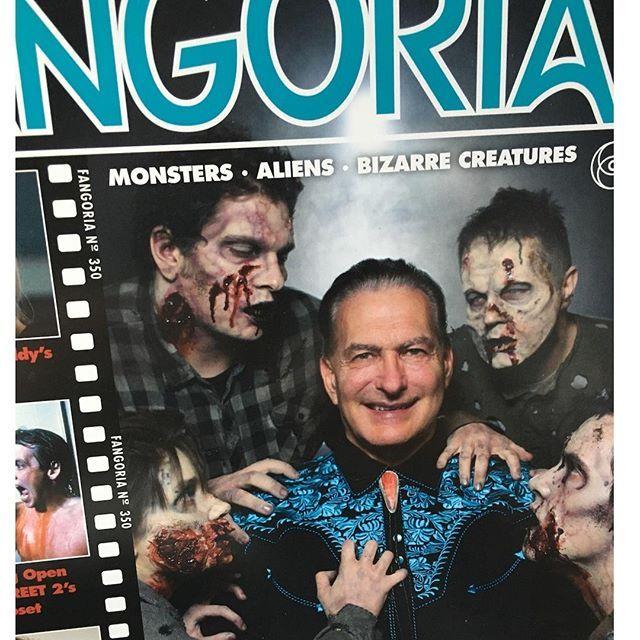 My Issue Of @FANGORIA Featuring @joebobbriggsofficial