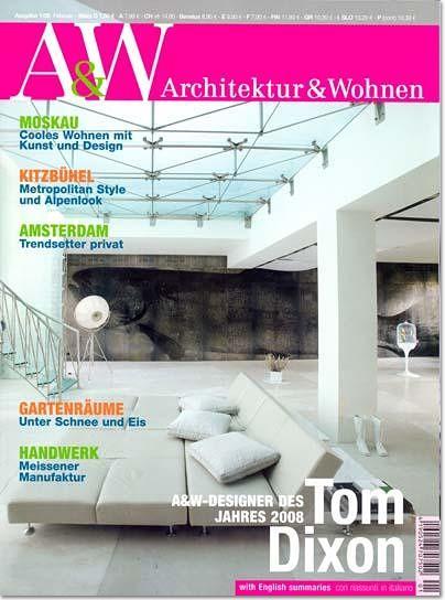 Wohnen Zeitschriften der anspruchsvolle und stilprägende klassiker architektur die wohn