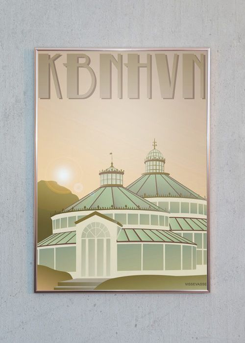 Kbnhvn Botanisk Have Plakater Billeder Og Danmark