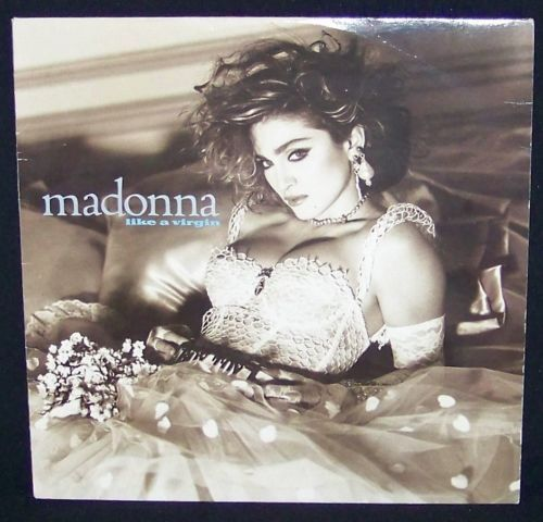 Vintage Madonna Like A Virgin 1984 Lp Record W Sleeve Rare Htf