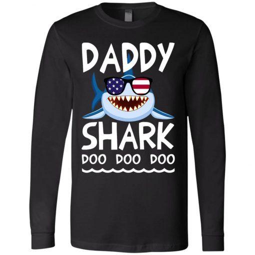 f75cecb04d5b American Daddy Shark Doo Doo Doo Long Sleeve - UnicornAZ - Fortnite, Sport,  Trending apparel