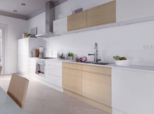 Cuisine design epuree castorama d co scandinave for Cuisine epuree design