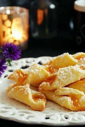 Marmeladetascherl aus Topfenteig! Rezept auf www.kochschuerze.at/blog
