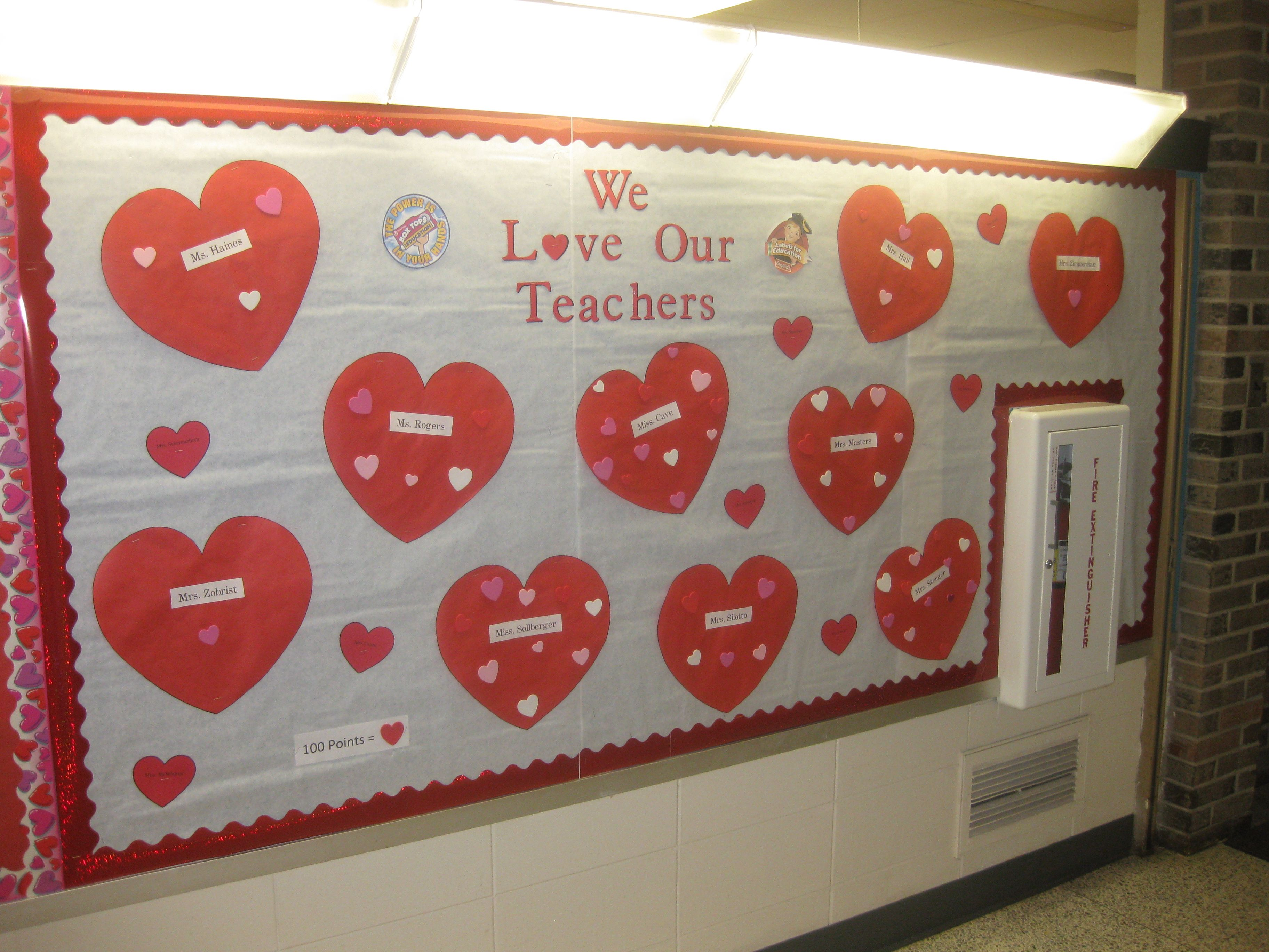 We Love Our Teachers Collection Contest For Every 100
