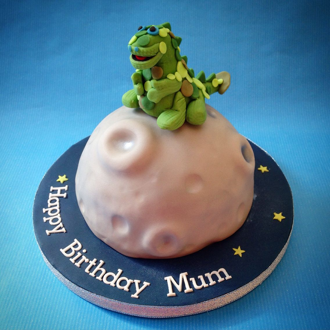 Soup Dragon Birthday Cake wwwcaronscakerycouk Rylands 1st bday