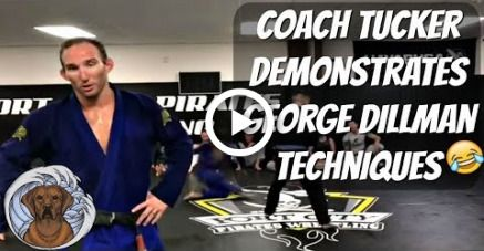Coach Tucker working on George Dillman techniques at SaltyDog BJJ #funny #fitness