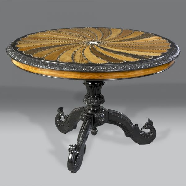 Hepplewhites - Ceylonese Centre Table - An exceptionally fine Ceylonese centre table