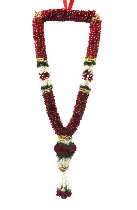 Online Florist For Indian Flowers Garlands Strings Leaves Gajara And More Flower Garland Wedding Indian Wedding Garland Garland Wedding Decor