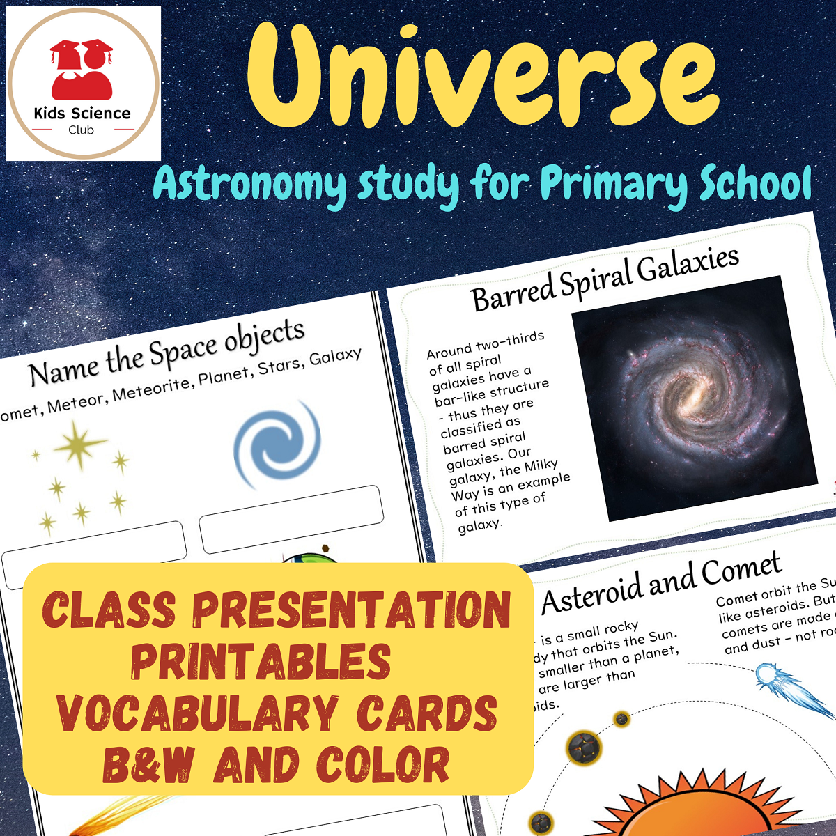 Universe Astronomy Study In