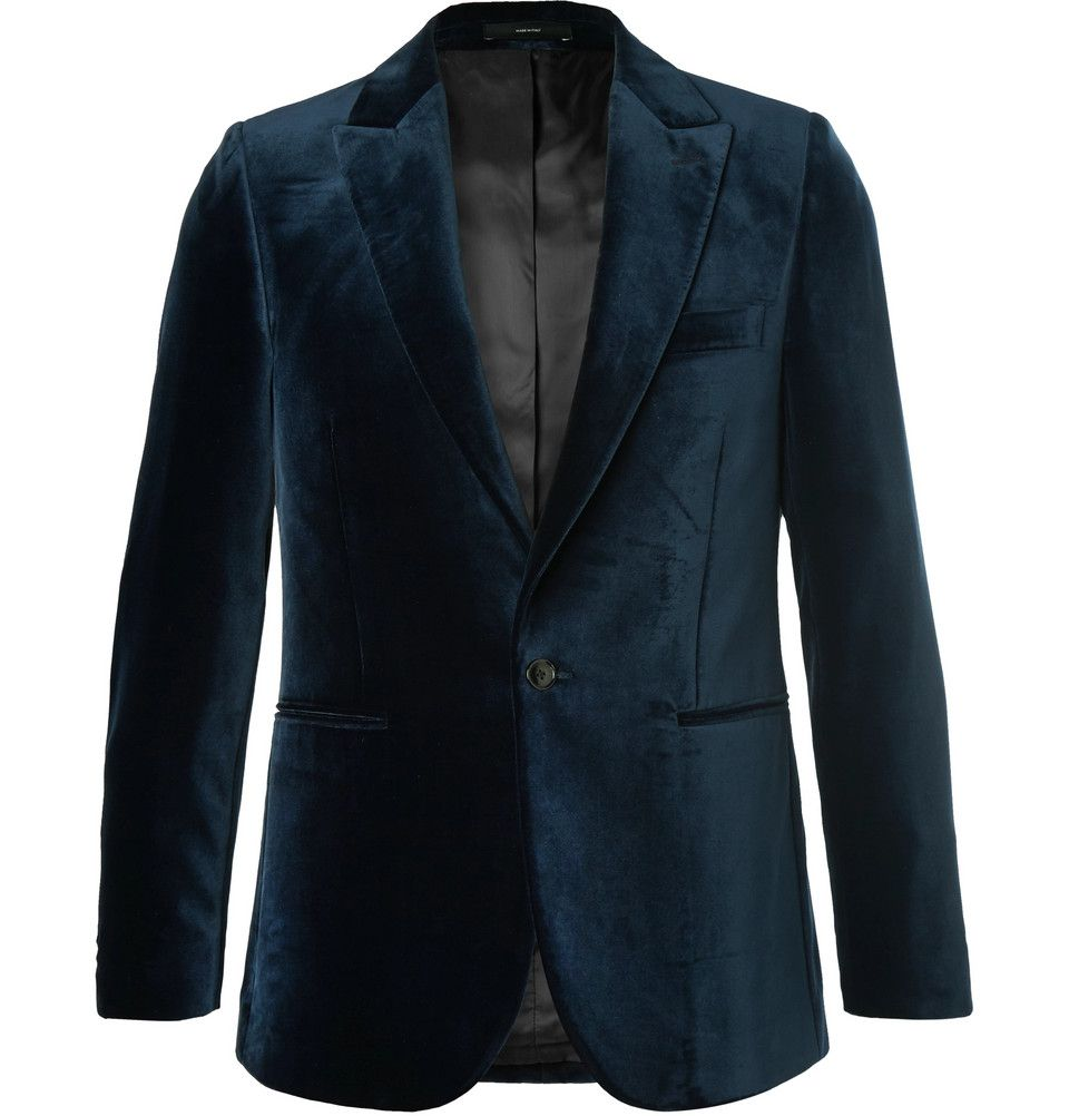 d24704bbab3 Paul Smith - Midnight-Blue Velvet Tuxedo Jacket | 12.20.18 | Tuxedo ...