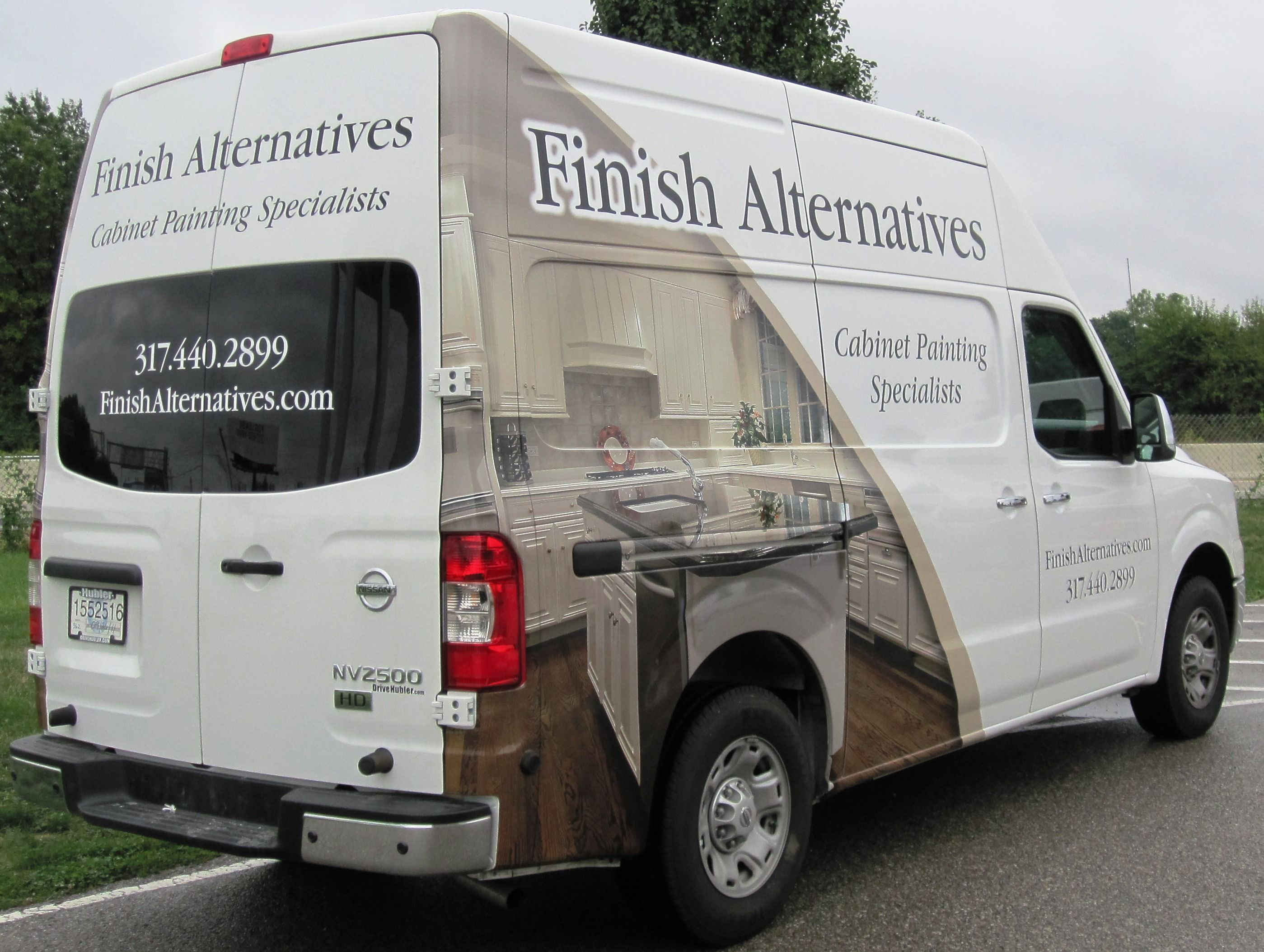 Finish Alternatives By Dream Street Graphics Indianapolis Vehicle Graphics Vehicle Wraps Vehicle D Specialist Paint Car Graphics Refinishing Cabinets