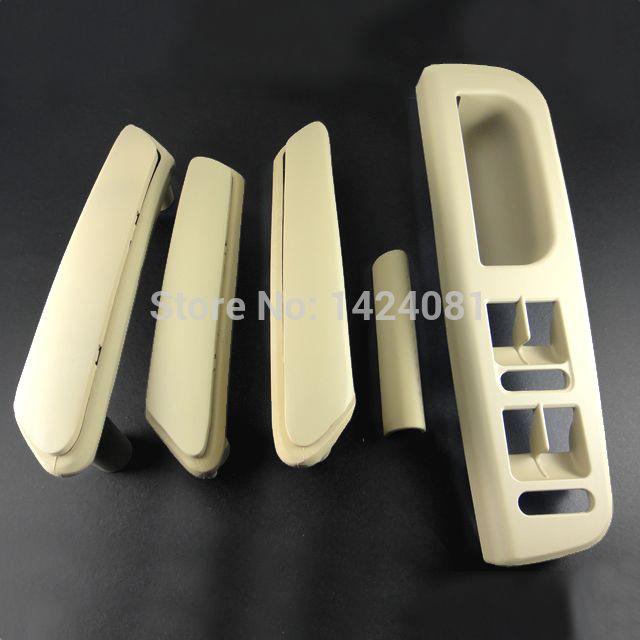 5x Beige Interior Door Handle With Trim 3b0867172 3b4867372 For Vw Passat B5 3b4867179a 3b4867180a 3b0867180a 3b08 Beige Interior Doors Interior Door Handles