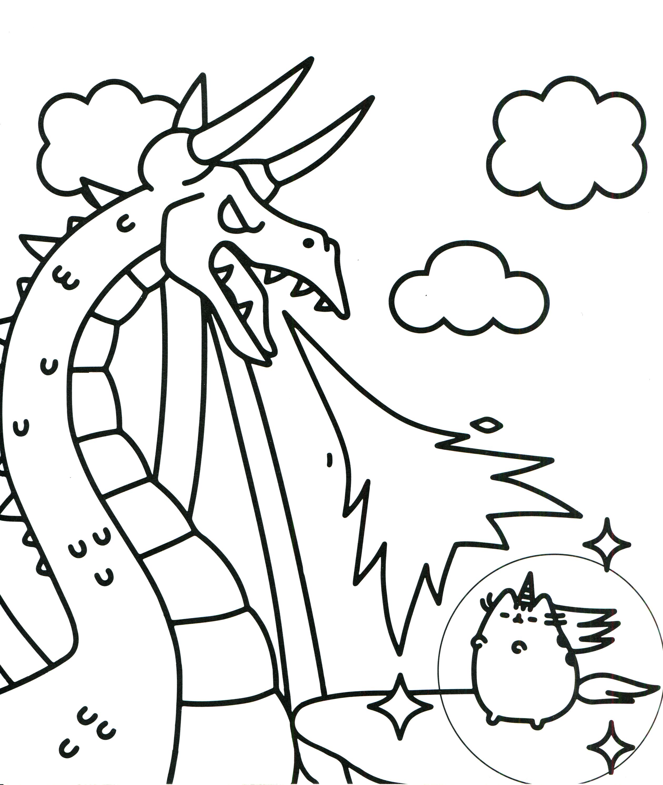 Pusheen Coloring Book Pusheen Pusheen The Cat Unicorn Coloring Pages Pusheen Coloring Pages Cat Coloring Page