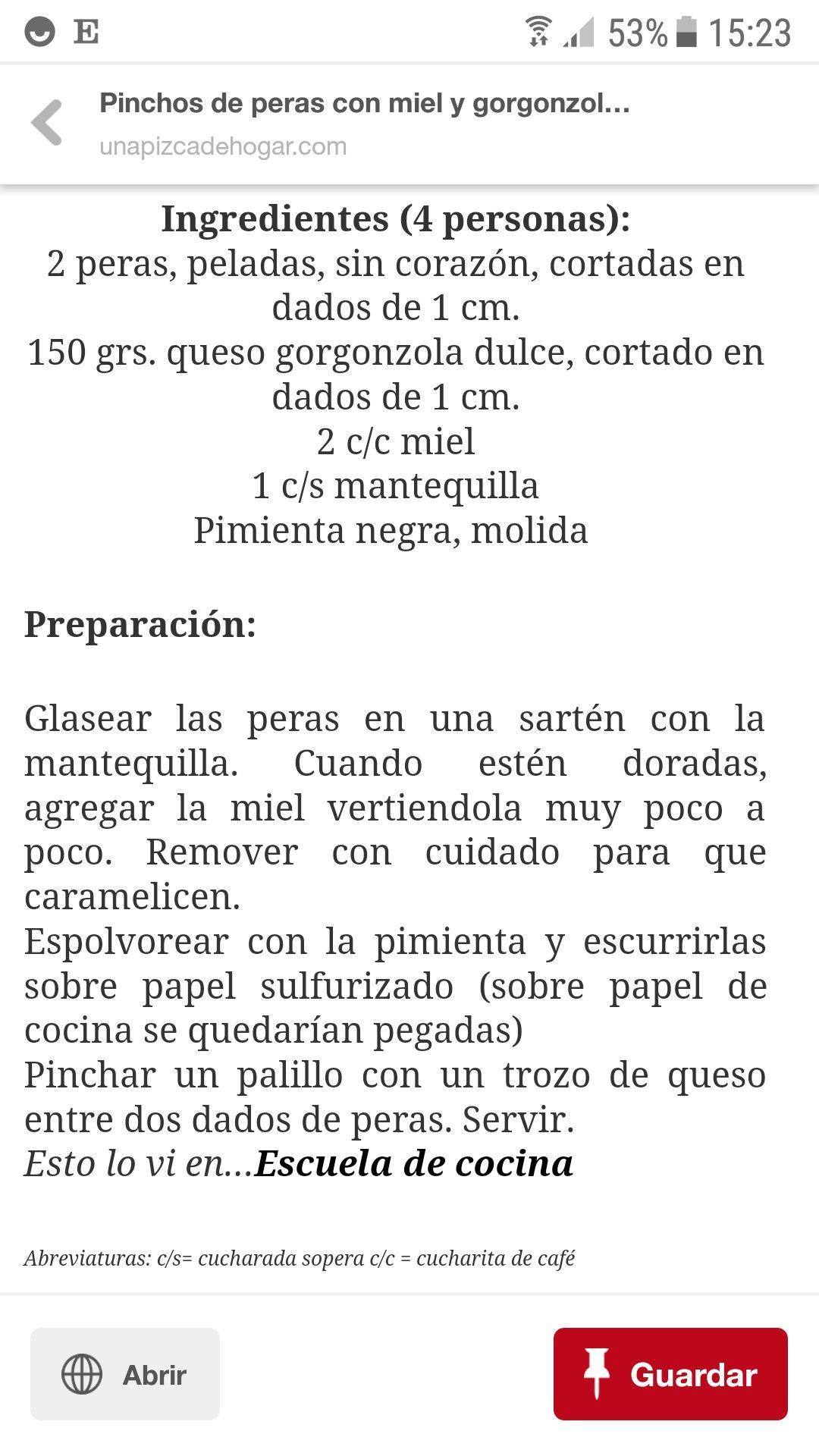 Pin De Rocio Pérez En Recetas Recetas