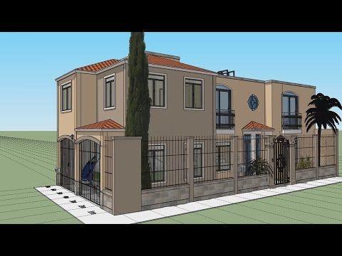 Casa en terreno 10x20 mts youtube dise os planos for Planos de casas youtube