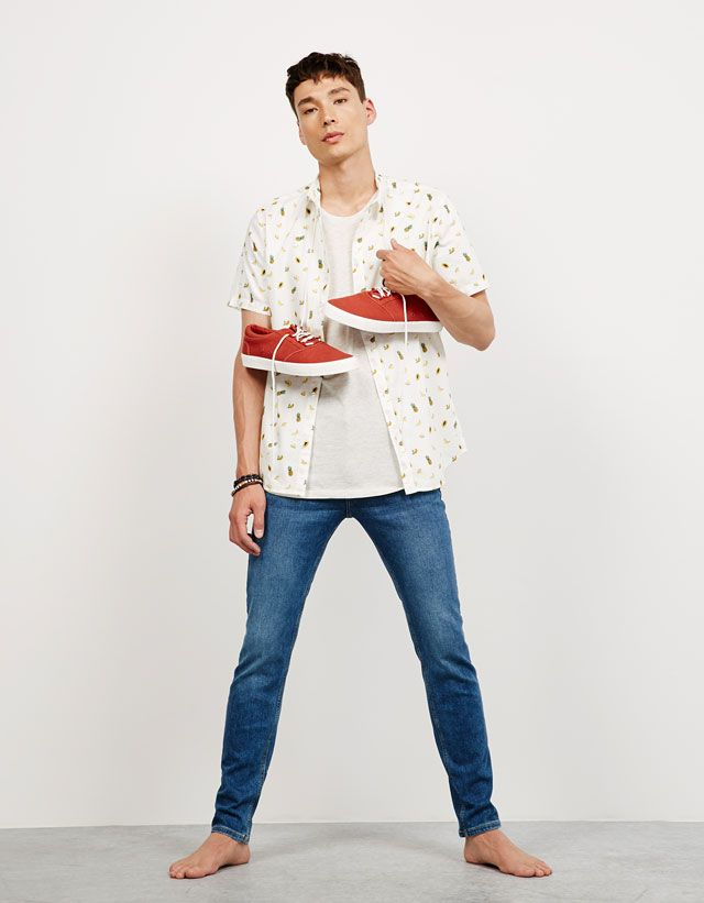 70011e5fea Jeans - NEW COLLECTION - HOMBRE - Bershka Mexico