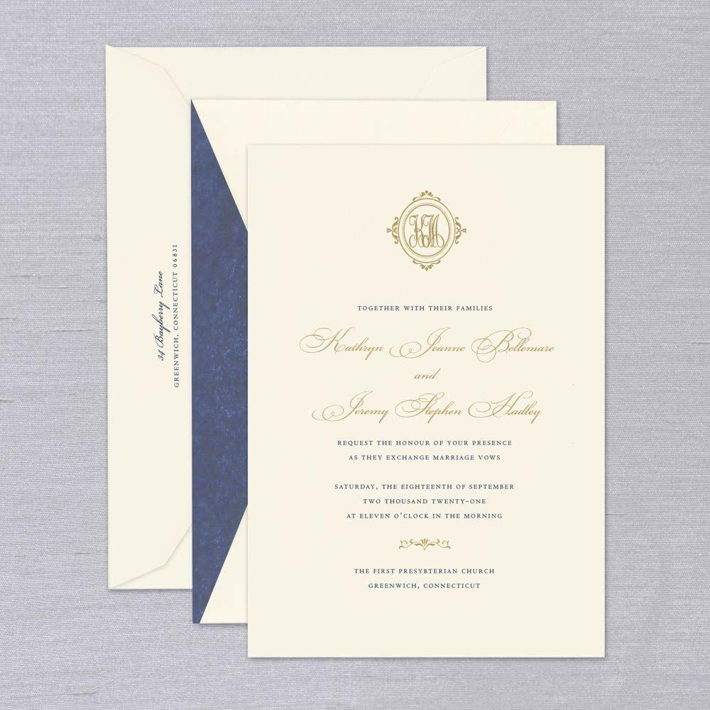 Exxex Wedding Invitation Crane Stationery Wedding Invitations Crane Wedding Invitations Wedding Invitation Etiquette