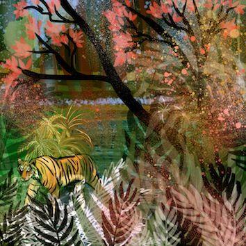 Tiger Tiger - Kate Morgan - Artist & Illustrator