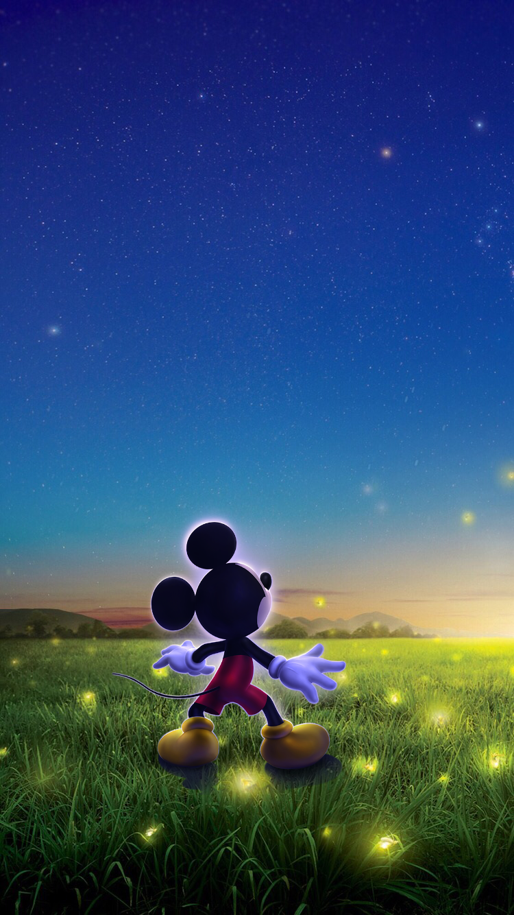 Обои iPhone wallpapers Mickey Mouse Fond d'écran mickey