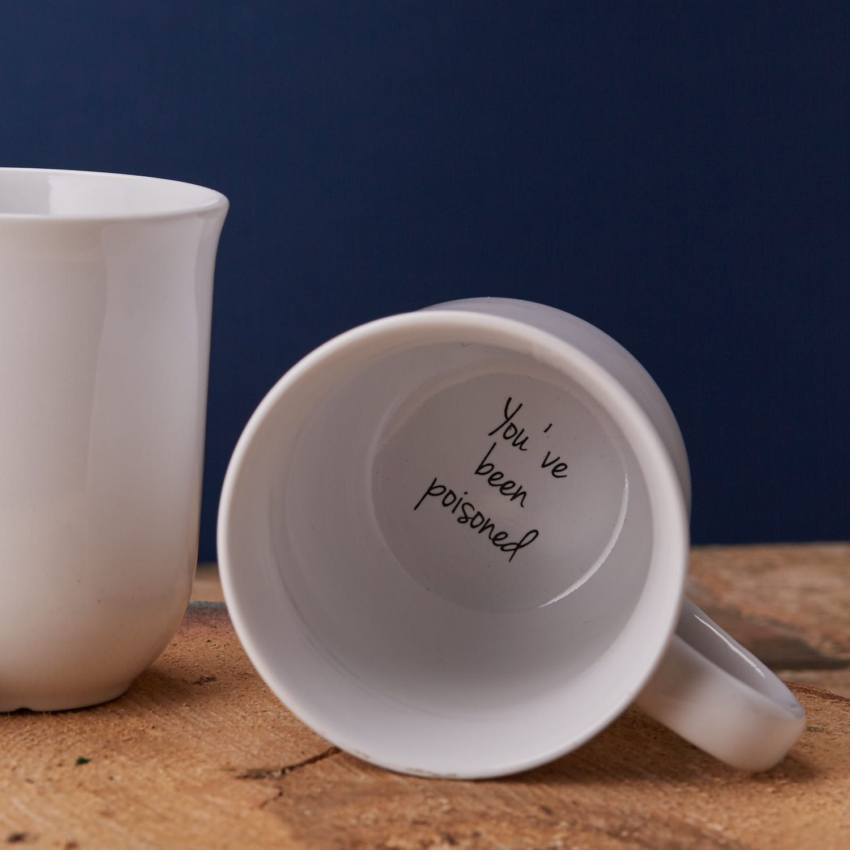 Funny Mugs Secret Message Mug Coffee Mug Etsy Funny Mugs Mugs Unique Coffee Mugs