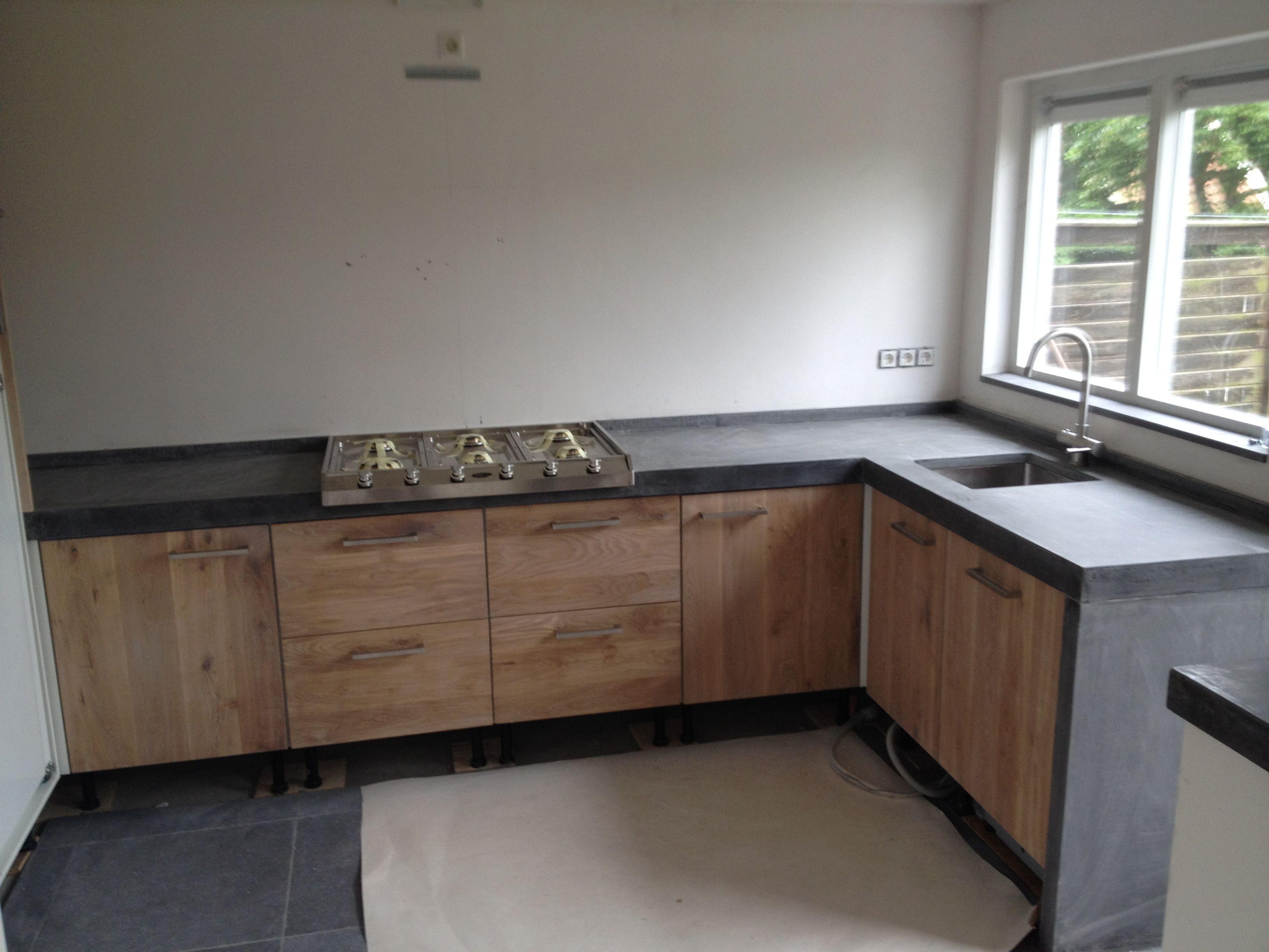 Keuken lengte breedte keuken in kitchen