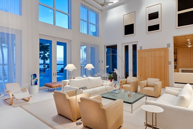 Warm Modernism in Florida | Modern interiors, Modernism and Modern
