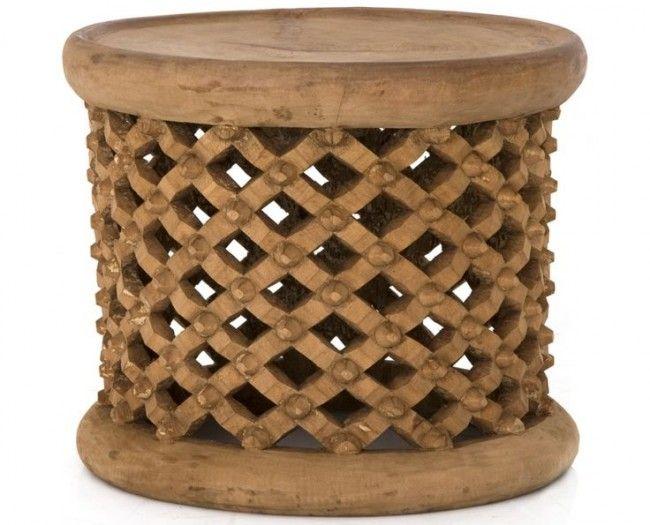 Bamileke King Stool Or Side Table
