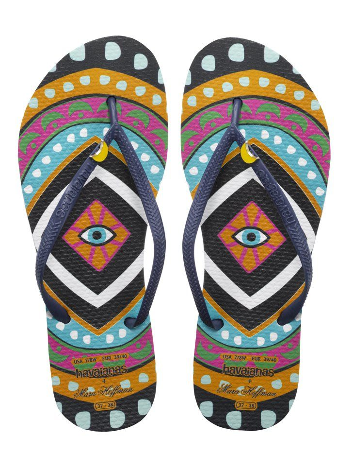 059739ddd Pin for Later  Collaborate Your Style With the Season s Most Stylish  Designer Duos Mara Hoffman Havaianas