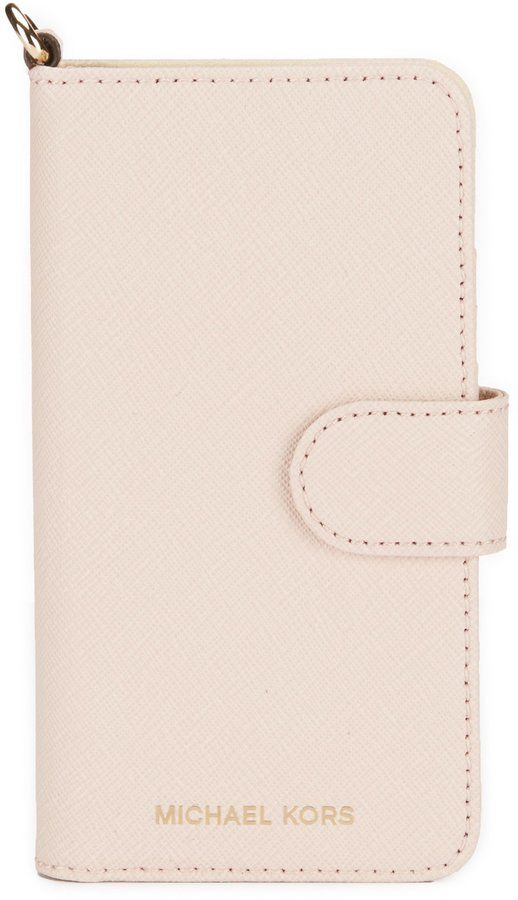 low priced fdecf 4e026 MICHAEL Michael Kors iPhone 7 Folio Phone Case | Products | Phone ...