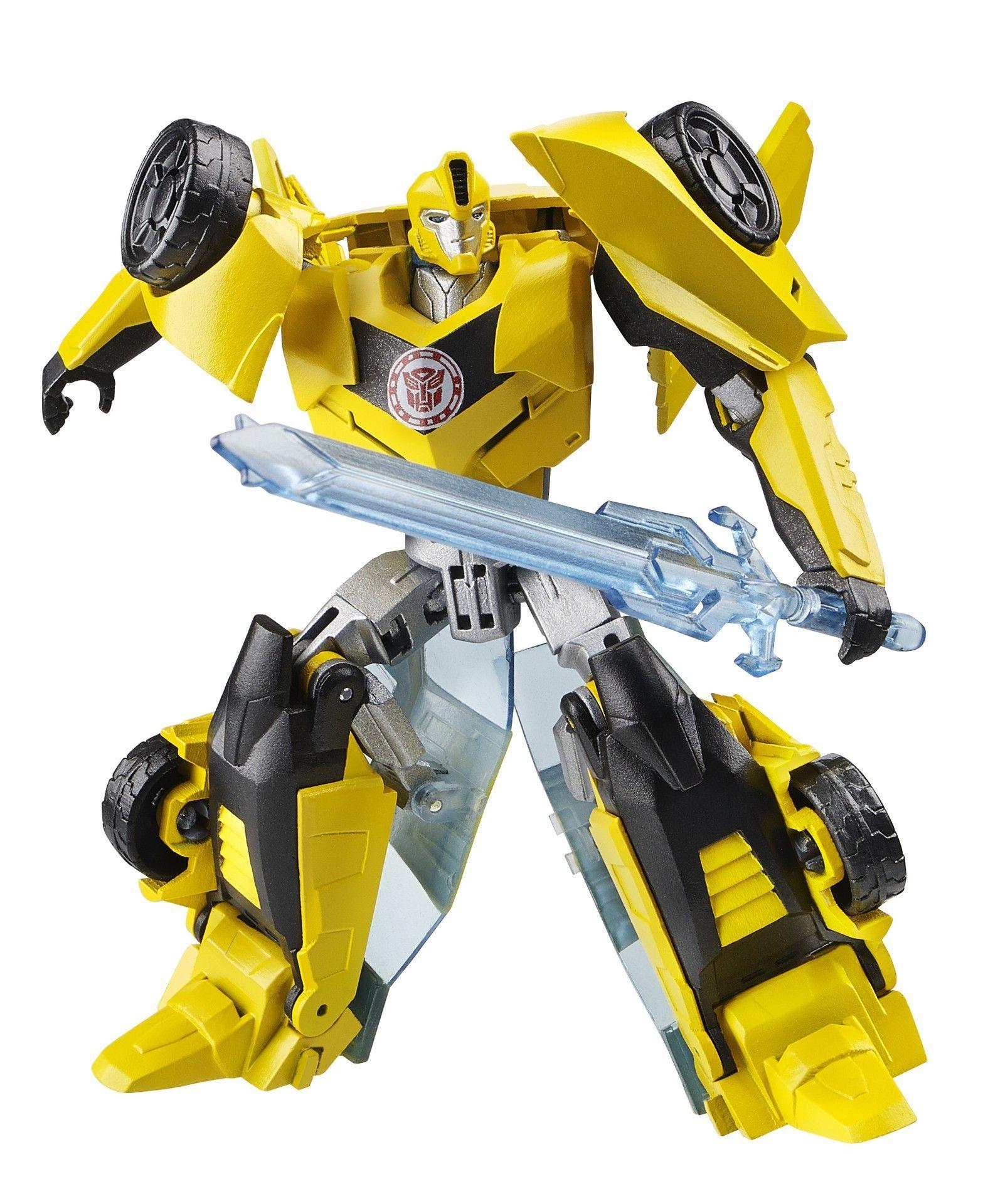 transformers robots in disguise bumblebee warrior