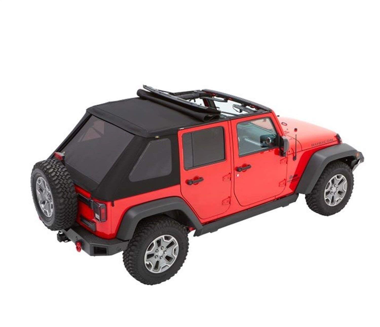 Amazon Com Bestop 56853 35 Black Diamond Trektop For 2007 2018 Jeep Wrangler Jk Unlimited 4 Door Automo Jeep Wrangler Soft Top Jeep Wrangler Jk Jeep Wrangler