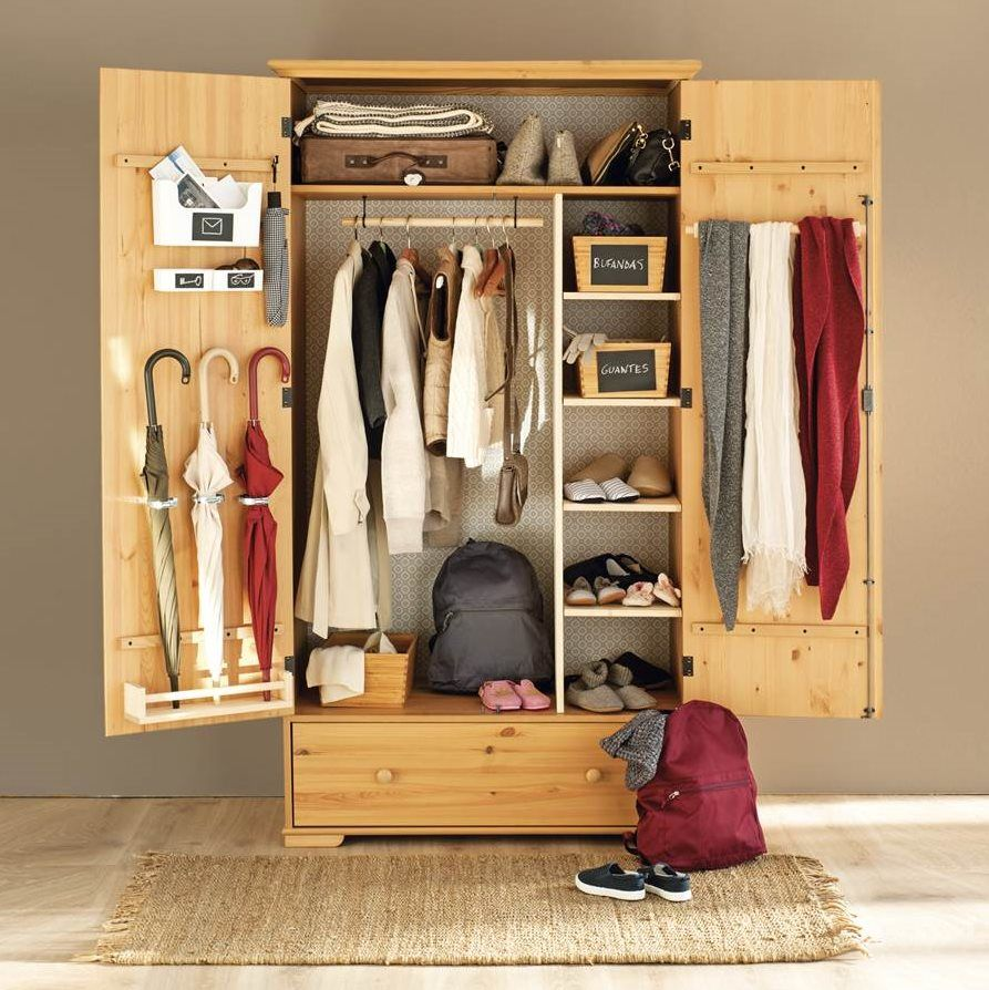 1 armario, 3 usos: personalízalo a tu medida | Recibidor, Ikea y Lo ...