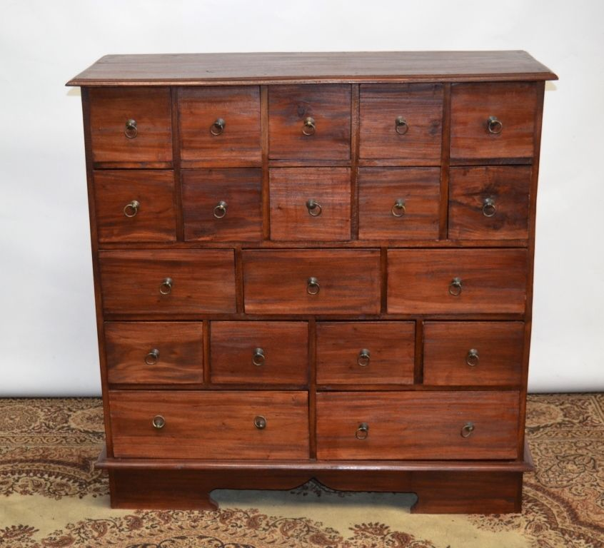 Antique Pine Apothecary Chest Of Drawers Free Delivery Pl