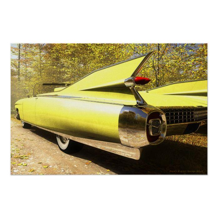 Autumn Caddy Poster | Zazzle.com