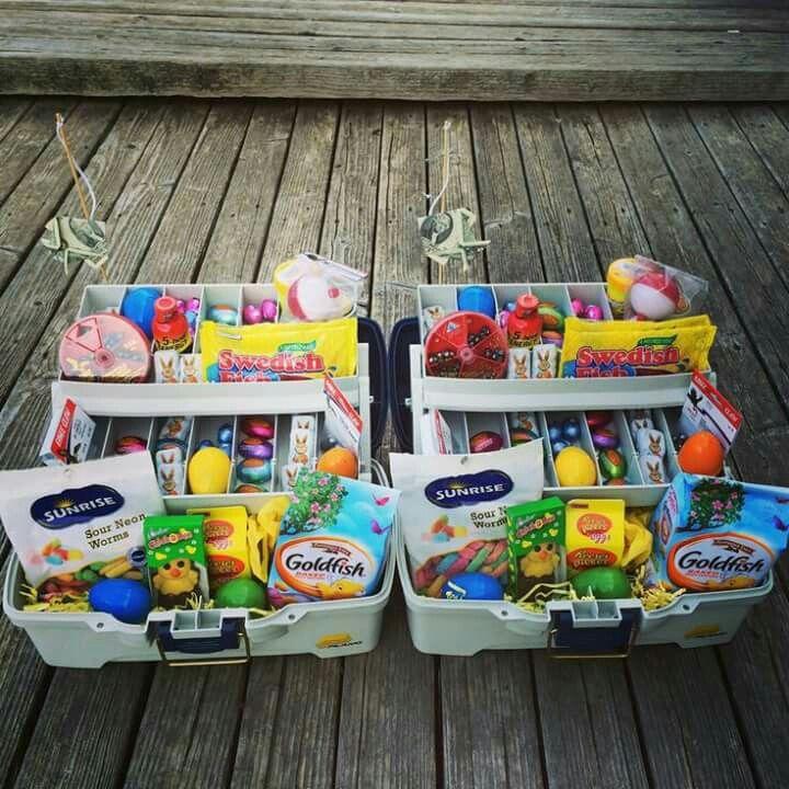 Easter tackle box easter pinterest easter easter tackle box easter basket ideaseaster negle Gallery