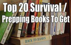 Preparedness Month: Top 20 Survival / Prepping Books To Get - SHTF, Emergency Preparedness, Survival Prepping, Homesteading