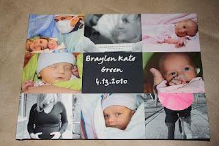 Cute baby book idea