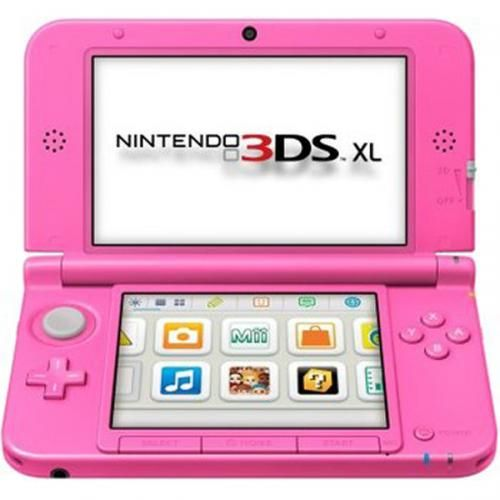 Nintendo 3ds Xl Sd Karte.Nintendo 3ds Xl Konsole Pink Video Gamer Nintendo