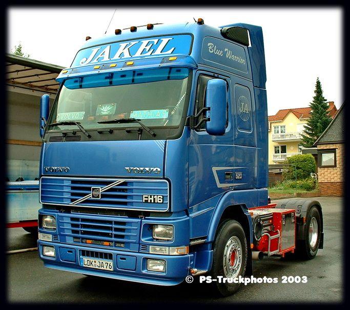 VOLVO FH16-520 GlobetrotterXL - Jakel - LDK-JA76 - D | volvo fh | Volvo, Volvo trucks, Trucks