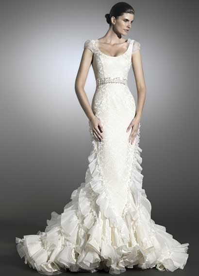 vestidos de novia elegantes con estilo y distincion: vestidos de