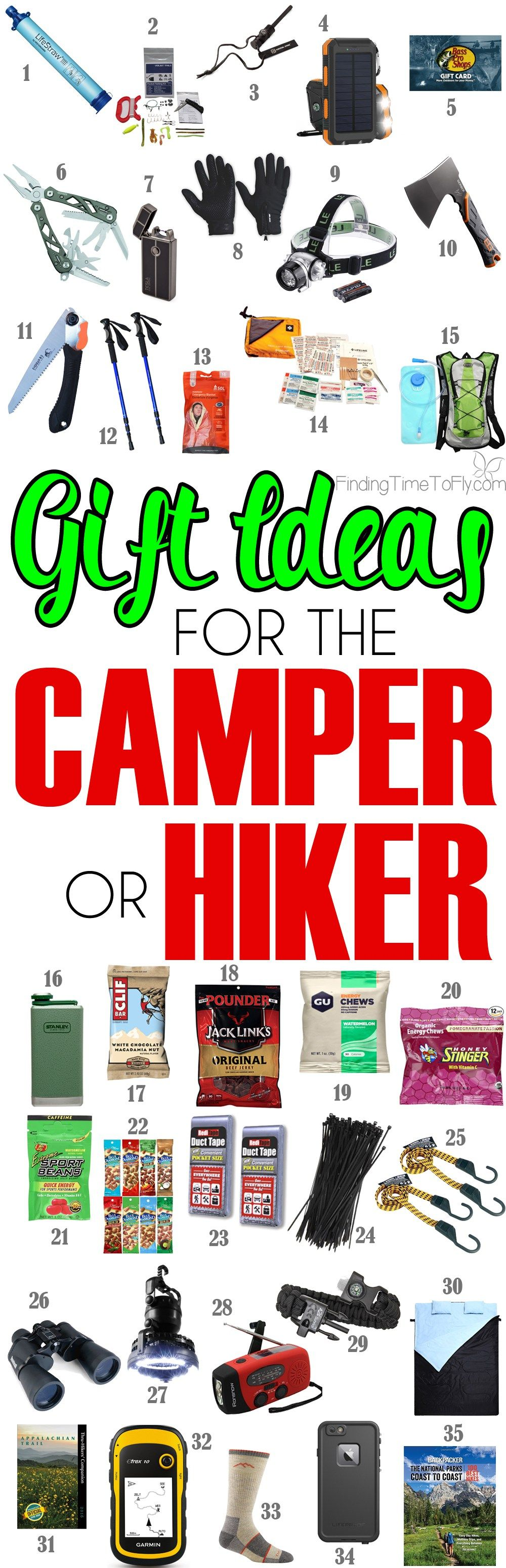 These Are Great Gift Ideas For The Outdoorsman Who Loves To Camp And Hike
