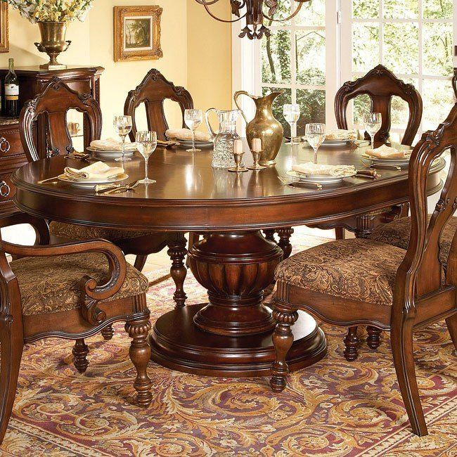 Prenzo Pedestal Dining Table images