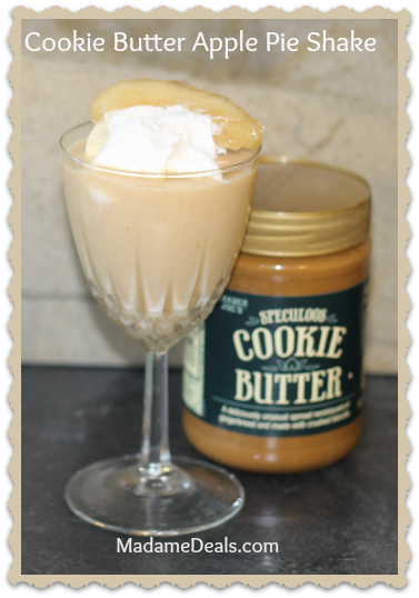 Cookie Butter Apple Pie Shake - Real Advice Gal