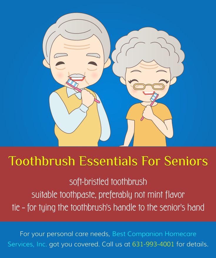 Toothbrush Essentials for Seniors