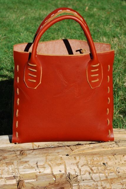 Handlaced handmade leather purse by OneLariat on Etsy, $365.00