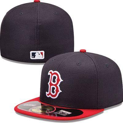 Boston Red Sox New Era Mlb Diamond Tech 5950 Fitted Hat